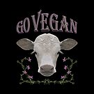 GO VEGAN by fuxart