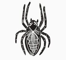 Spider Lino Print Kids Clothes