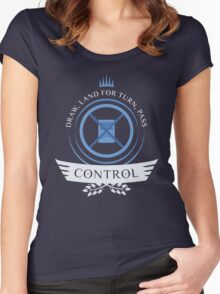 Magic the Gathering - Control Life V2 Women's Fitted Scoop T-Shirt