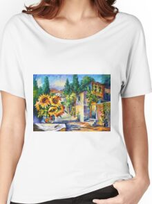 GREEK NOON - Leonid Afremov Women's Relaxed Fit T-Shirt