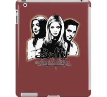 A Trio of Scoobies (Willow, Buffy & Xander) iPad Case/Skin