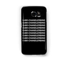 1-800-Chandler-Bing (Black) Samsung Galaxy Case/Skin