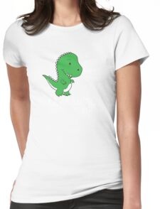Poor Rex Womens Fitted T-Shirt