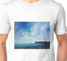 Blue Ocean Landscape Painting Unisex T-Shirt