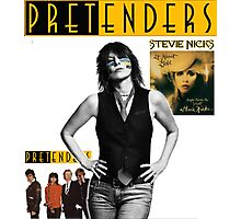 pretenders with stevie nicks 24 karat gold tour 2017 Photographic Print