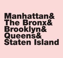 Five Boroughs ~ New York City Kids Clothes