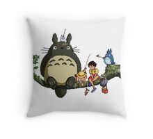 My 8bit Neighbour Throw Pillow