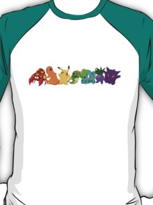 Pokemon Rainbow T-Shirt