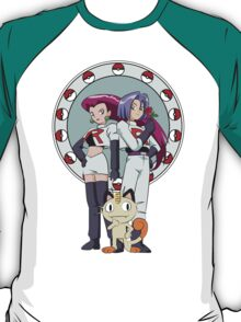 Team Rocket Nouveau T-Shirt