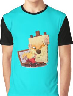 Calvin And Hobbes Sketch Graphic T-Shirt