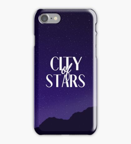 City of Stars iPhone Case/Skin