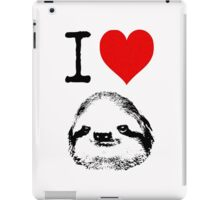 I Love Sloths iPad Case/Skin