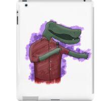Alligator Comedian iPad Case/Skin