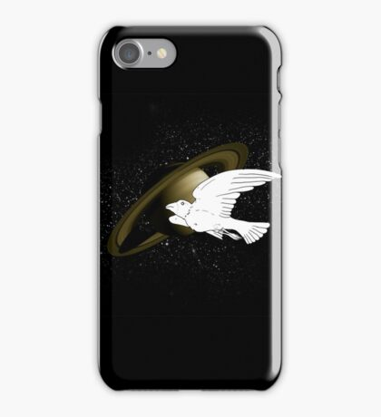Bird in Spaaaaaaaaaaaaaaaaaaaaace iPhone Case/Skin
