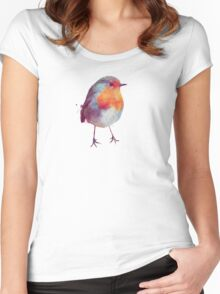 Winter Robin Women's Fitted Scoop T-Shirt