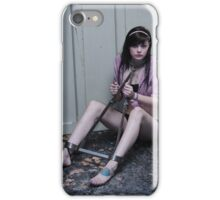 Lottie in the Scavengers Daughter iPhone Case/Skin