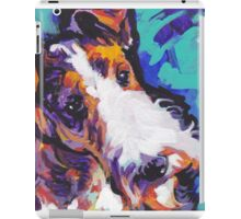 Wire Fox Terrier Bright colorful pop dog art iPad Case/Skin