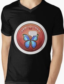 Glitch Achievement butterfly whisperer Mens V-Neck T-Shirt
