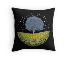 Starry Night Sky Throw Pillow