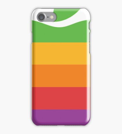 Retro Apple Logo iPhone Case/Skin