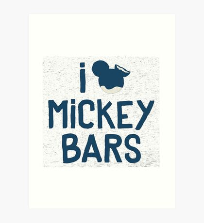 mickey bar Art Print