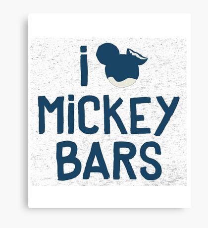 mickey bar Canvas Print