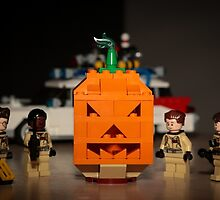 Ghostbusters Pumpkin by garykaz