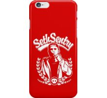 'SETH SENTRY' (WHITE PRINT) iPhone Case/Skin