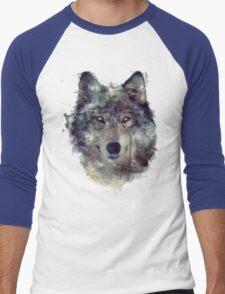 Wolf // Persevere Men's Baseball ¾ T-Shirt
