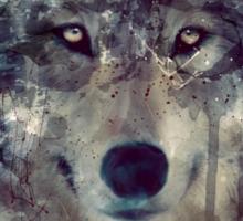 Wolf // Persevere Sticker