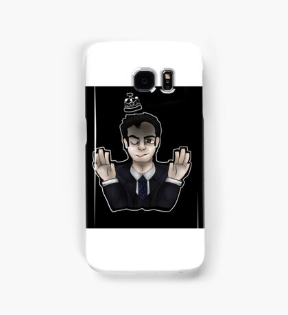 jim moriarty - see me in a crown Samsung Galaxy Case/Skin