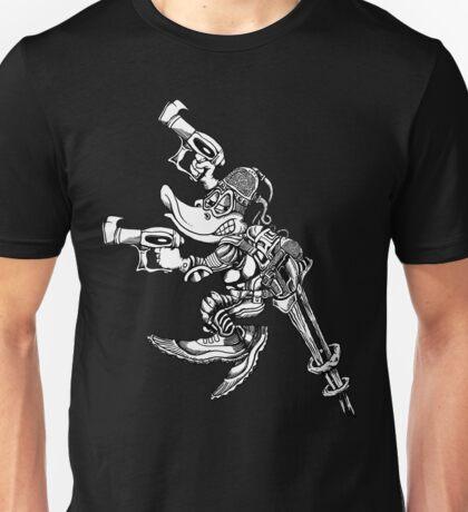 Battle Mallards B&W Unisex T-Shirt