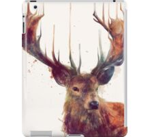 Red Deer iPad Case/Skin