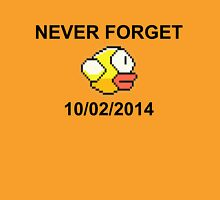 Never Forget Flappy Bird Unisex T-Shirt