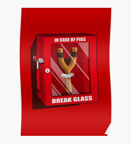 In case of pigs Poster