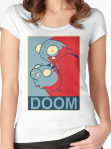 "GIR Doom- ""Hope"" Poster Parody Women's Fitted Scoop T-Shirt"