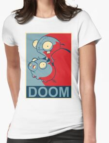 "GIR Doom- ""Hope"" Poster Parody Womens Fitted T-Shirt"
