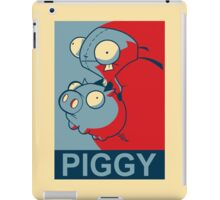 "GIR Piggy- ""Hope"" Poster Parody iPad Case/Skin"