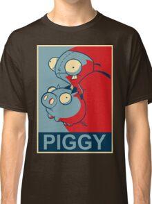 "GIR Piggy- ""Hope"" Poster Parody Classic T-Shirt"