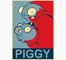 "GIR Piggy- ""Hope"" Poster Parody Unisex T-Shirt"