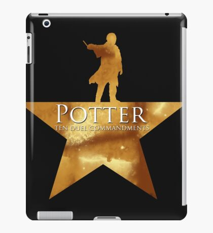 Potter, Ten Duel Commandments iPad Case/Skin