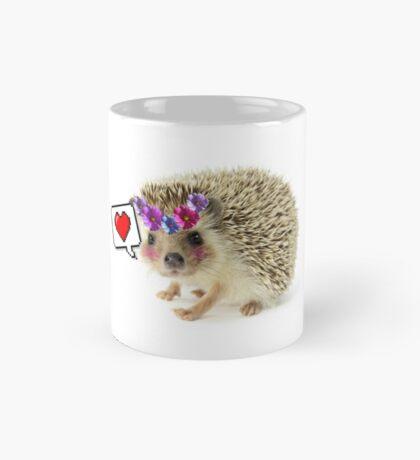 Hedgehogs are my best friends Mug