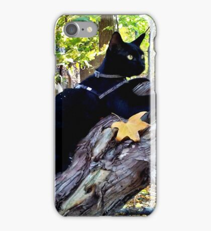 To Be One With Nature! iPhone Case/Skin