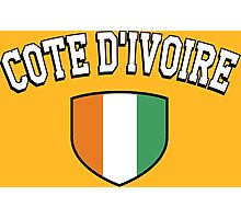 Cote D'Ivoire Supporters Photographic Print