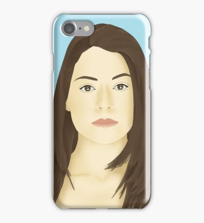 Orphan Black Portrait - Beth Childs iPhone Case/Skin
