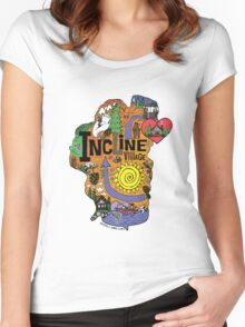 INCLINE VILLAGE Women's Fitted Scoop T-Shirt