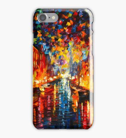 NIGHT COPENHAGEN - Leonid Afremov iPhone Case/Skin
