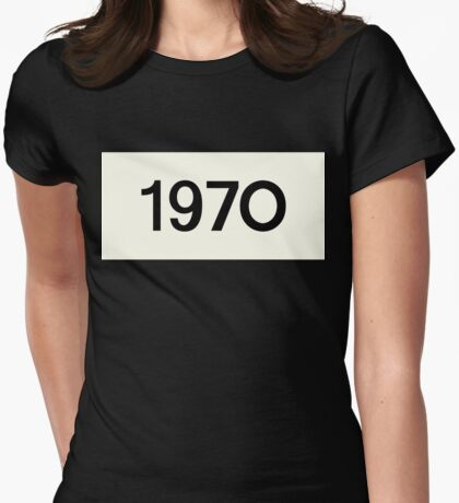 Jenna Coleman - 1970 Womens Fitted T-Shirt