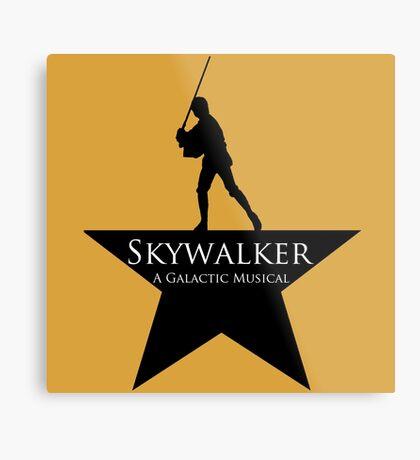 Skywalker, A Galactic Musical  Metal Print