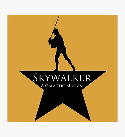 Skywalker, A Galactic Musical  Photographic Print